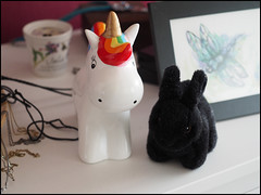 Day 117 (kostolany244) Tags: 3652018 onemonth2018 april day117 2742018 kostolany244 olympusomdem5markii europe germany geo:country=germany month bunny unicorn 365the2018edition