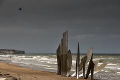 Omaha Beach (marian.assink) Tags: normandië omahabeach kust oceaan zee