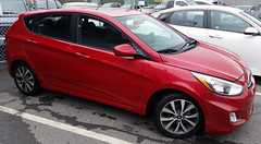 2017 Hyundai Accent (D70) Tags: hyundai 120365 my rental car while kia is being repaired accent