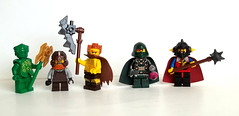 Fantasy Figs - Warriors & Rogues (Azaghal Gabilzaramul) Tags: lego castle minifig dwarves dragonmasters