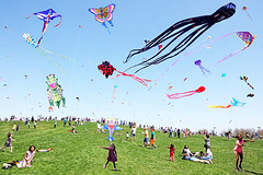 The Kite Festival (kirstiecat) Tags: kites chicago kids festival crickethill montroseharbor families children montrosebeach kitefestival moment cinematic colors colours beautiful dream dreamy surreal street canon canon5dmkiv