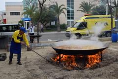 Fiesta parque empreaarial (restauracion y paella gigante )