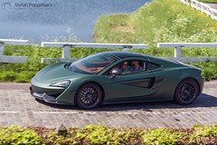 McLaren 570GT [Explored] (Stefan Poppelaars Automotive Photography) Tags: road trip driving country drive sports car journey roadway roadside utility vehicle motorbike heusden mclaren 570gt rally via bellare sportscar crousing racecar racing automotive auto green matt