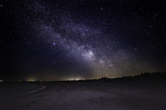 Milky Way at Stakendorf Beach (nomadbrother1) Tags: starry sky milky way night beach space skies stars