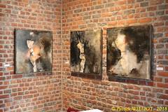 IMG_9418 (Patrick Williot) Tags: exposition vernissage ecuries sculpteur michal peintre genevieve nicolas