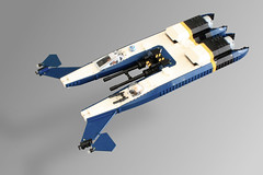 Incom F-20 Switchwing Starfighter (Oscar Cederwall (o0ger)) Tags: lego moc space spaceship starfighter star wars