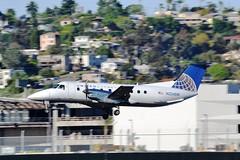 UA Express Embraer (Gerry Rudman) Tags: embraer emb120 brasilia san diego california n 234sw skywest airlines