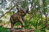 Bronze sculpture in the Garden of the Gods in Muang Boran (Ancient City) in Samut Phrakan near Bangkok, Thailand (UweBKK (α 77 on )) Tags: bronze sculpture art artistic elephant gardenofthegods garden park gods open air museum muang mueang boran ancient city siam samut phrakan bangkok thailand southeast asia sony alpha 77 slt dslr