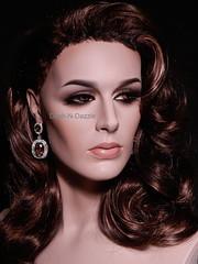 Michelle Brooks (dashndazzle) Tags: dashndazzle mannequin makeup rootstein michelle brooks lipstick