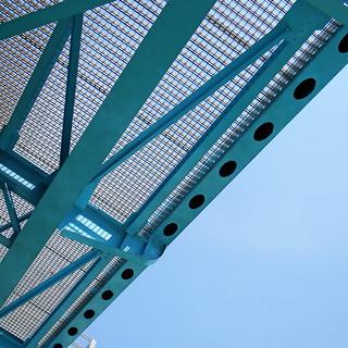 Looking Up at New Pass Bridge