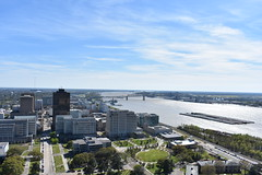 BATON ROUGE (SneakinDeacon) Tags: louisiana statehouse capitol batonrouge scenicview observationdeck mississippiriver