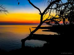 Porto Selvaggio (antonio.manni) Tags: allsunsets beautiful beach beutiful colors red orange cloud horizon