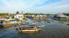 Floating market in Mekong Delta, Vietnam (phuong.sg@gmail.com) Tags: activity air amazing asia asian boat busy cairang cantho canal chanel crowd crowded day delta dirty ethnic farmers flea float floating group khmer lively market mekong nganam open people person poor poverty river row rowing running scene soctrang sunny sunrise trade traditional travel vietnam vietnamese water wooden