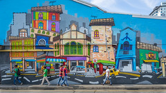 Mural art at Little India (BP Chua) Tags: singapore littleindia indian colours travel asia street town people tourist attraction sony a7