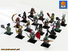 ORCS ARMY 00 (baronsat) Tags: lego orcs army minifigs minifigures custom mix combo lotr warhammer ropleplay miniatures figures game tabletop orks