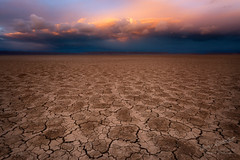 Amazing Alvord (Gary Randall) Tags: gar13932 oregon alvorddesert desert playa mud easternoregon sunset clouds sky crackedmud landscape