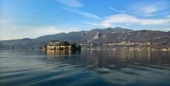 Italian lake (little_frank) Tags: ortalake isolasangiulio piedmont italy lagodorta piemonte italia nature water reflection benedictinemonastery saintjulius romanesquebasilica