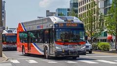 WMATA Metrobus 2018 New Flyer Xcelsior XN40 #3112 (MW Transit Photos) Tags: wmata metrobus new flyer xcelsior xn40