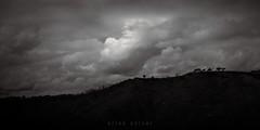 the house on the hill (Elton Pelser) Tags: bw monochrome 21 univisium blackandwhite nikond3400 outdoor hill house sky clouds mono landscape lowkey noir