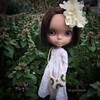 Juniper in the wilds. (queenbee2zz) Tags: studiopinkjelly moshimoshi blcustom bl03 juni juniper rosieredcustom blythe tamara