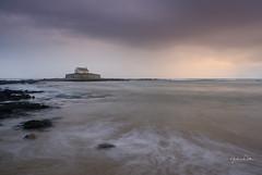 St Cwyfan's (littlenorty) Tags: anglesey buildings church cribinau europe irish nature sea stcwyfan's storm sunset unitedkingdom wales weather fuji1655f28 fujixt20