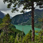A Lake Beyond the Evergreens (North Cascades National Park Service Complex) thumbnail