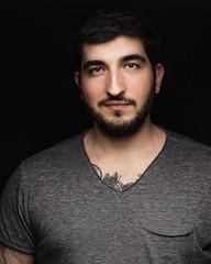 Fabio (Thom O.) Tags: ifttt 500px portrait man men model tattoo young italian studio photography eyes