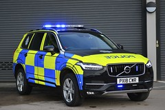 PX18 CWR (S11 AUN) Tags: cumbria constabulary volvo xc90 awd t6 4x4 anpr police traffic car rpu roads policing unit arv armed response 999 emergency vehicle px18owr