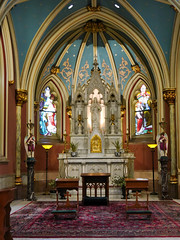 Cathedral of St John the Baptist Savannah (sabine1955) Tags: altar cathedrale savannah kirche church windows fenster