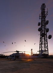 Tom Clancy's Ghost Recon - Wildlands (Matze H.) Tags: tom clancys ghost recon wildlands bolivia sunset sunrise brids helicopter antenna tower ansel screenshot