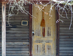 Cabin Door. (dccradio) Tags: whiteoak nc northcarolina bladencounty outside outdoors harmonyhall harmonyhallplantation park museum history historic historical livinghistory cabin house building architecture old antique vintage classic