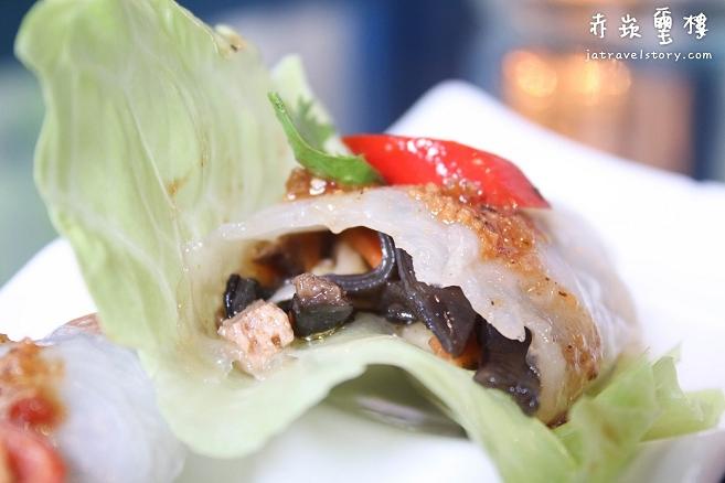 赤崁璽樓 中西合併創意蔬食料理,讓你吃素也能回味無窮! 【台南美食推薦/台南素食推薦】 @J&A的旅行