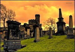 Edinburgh Graveyard (Billy McDonald) Tags: hdr edinburgh graveyard headstones clouds scotland