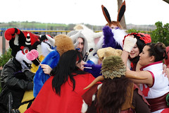 SAM_8695.jpg (Silverflame Pictures) Tags: hondachtigen draak costumeplay fukumi cosplay pokémon ninetales 2018 furry april canine dragon furrie costume grouppicture