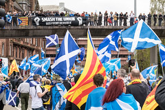 Smash the Union, Charing Cross, All Under One Banner, Glasgow (05/05/18) (johnawatson) Tags: scoyland independence glasgow politics march demonstration protest canon80d ef2470mmf4lisusm scotland