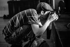 Cajado (Miguel.Galvão) Tags: black white monochrome high iso cajado experimental noise gig she harmonia eborense super évora alternativa alternative alentejo portugal daniel catarino joel fausto miguel galvão pedro pires reportagem fotográfica photography out focus grainy low light capotefest fest festival capote portraits documentary canon prime lens manual apsc 5d classic warmup anta do livramento