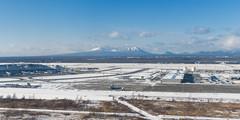 風不死岳&樽前山 (A.S. Kevin N.V.M.M. Chung) Tags: japan overview inflight hokkaido 北海道 nature snow yuki mountain airport newchitose cts