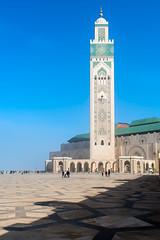 mosque (Guy Goetzinger) Tags: goetzinger nikon d500 mosque hassan casablanca morocco maroc moschee arabic architecture architektur islam blue sky huge turm tower 2018 top best