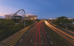 Moses Mabhida Stadium (Willper Edward) Tags: architecture durban mosesmabhida stadium travel kwazulunatal southafrica longexposure sunset skies street explore exposure canon flickr