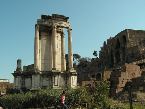 Римський форум, Рим, Італія InterNetri Italy 489