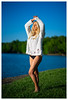 Natalie - Love is In the Air (jfinite) Tags: model beauty fashion environmentalportraiture spring legs swimwear swimsuit blonde
