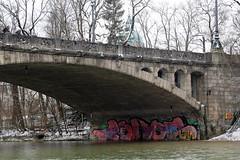 todos (Luna Park) Tags: munich germany graffiti isar river lunapark bridge todos tadas