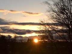Random Photos! - Sunset Painting! (Polterguy30) Tags: silhouettes silhouette sunset sun newhampshire