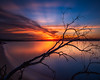 Naval Live Oaks Sunset (Cody Meadows) Tags: sunset gulfbreeze longexposure clouds waterscape landscape driftwood