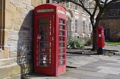 IMGP9281 (Steve Guess) Tags: durham cathedral university england gb uk unesco world heritage site k5 phone box telephone kiosk letter pillar post