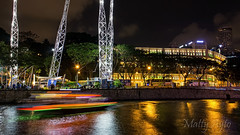Clarke Quay, Singapore -7420 (Matty 8o) Tags: singapore outdoor outdoors vacation holiday travel travelling canon canon700d 700d lens dslr photography photos photo photograph photographer canon1855mm 1855mm 1855 beautiful light lights night nightshots shot dark view long exposure longexposure city love relax clarkequay riverside boat restaurant nightlife afterdark