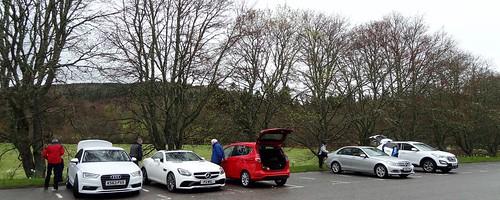 Balmoral Castle Car Park