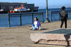 Pier 7 Pose (JB by the Sea) Tags: sanfrancisco california april2018 urban financialdistrict pier7