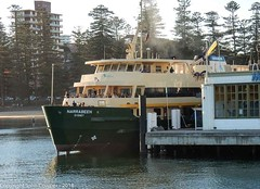 Sydney Ferries - Manly Ferry, Narrabeen , late afternoon at Many Wharf (john cowper) Tags: sydneyferries manlyferry narrabeen manlywharf manlycove transportfornsw manly sydney newsouthwales