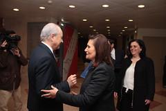 Rui Rio em reunião com a UGT
